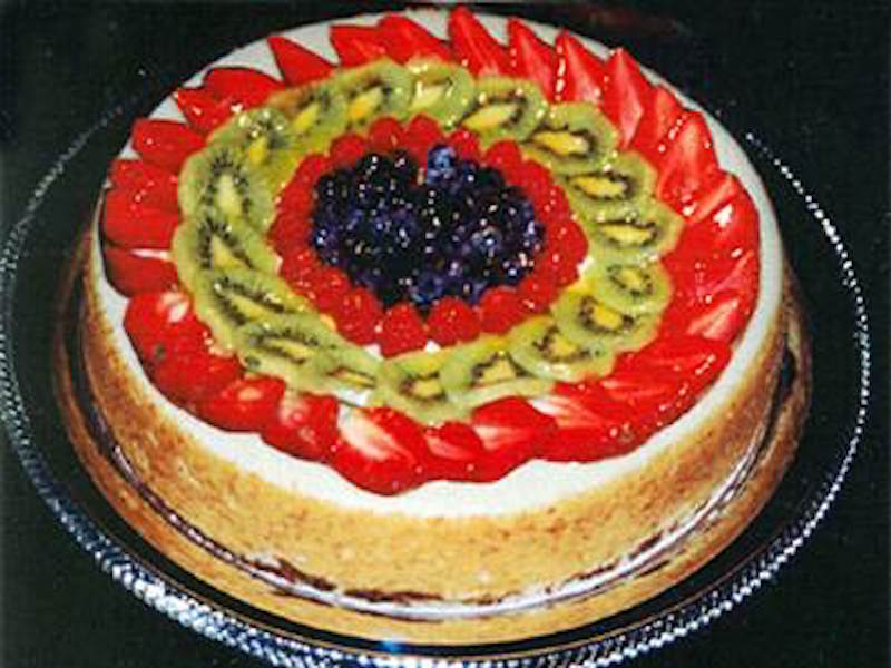 Fresh Fruit Cheesecake